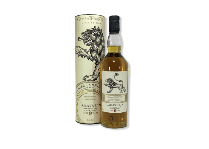 Lagavulin 9 Y.O.Game of Thrones  House Lannister