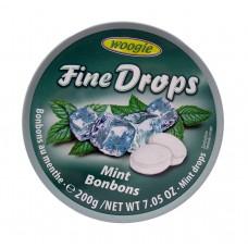 Woogie Fine Drops Mint Bonbons