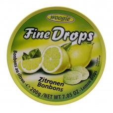 Woogie Fine Drops Zitronen Bonbons