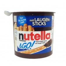 Nutella & GO! Nuss Nugat Creme mit Laugen Sticks