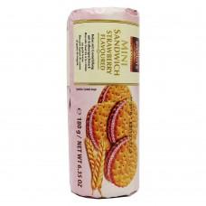 Печенье Mini Sandwich клубника