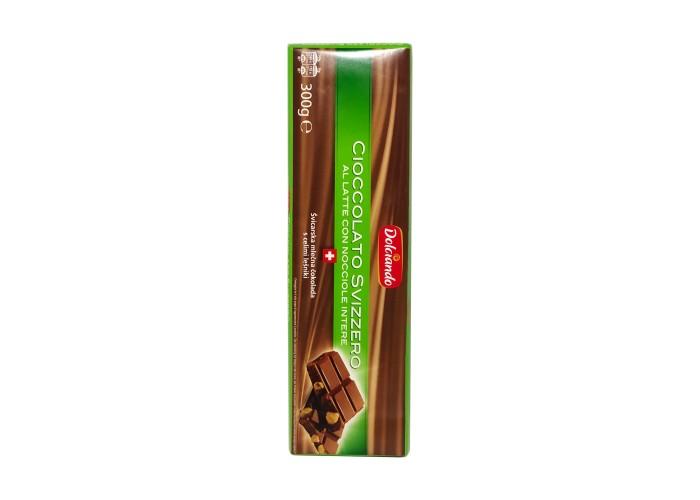 Dolchiando Ciocolato svizzero Nocciole intere
