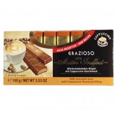 Шоколад Maitre Truffout Mini Bars капучино