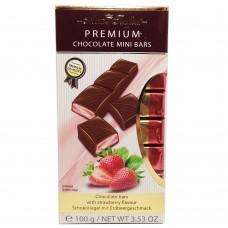 Шоколад Maitre Truffout Mini Bars клубника