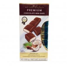 Шоколад Maitre Truffout Mini Bars кокос