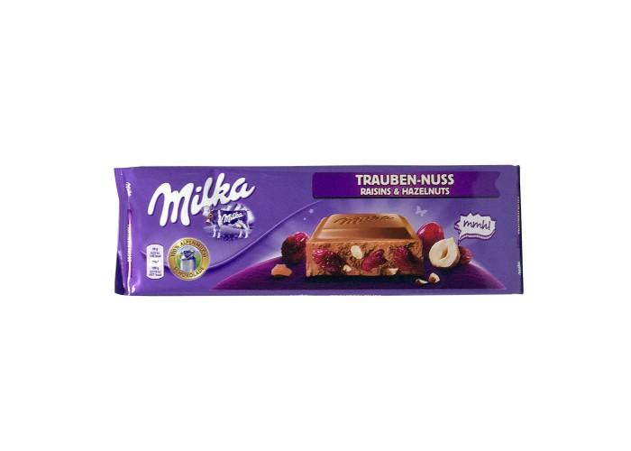 Milka Trauben-Nuss Raisins & Hazelnuts