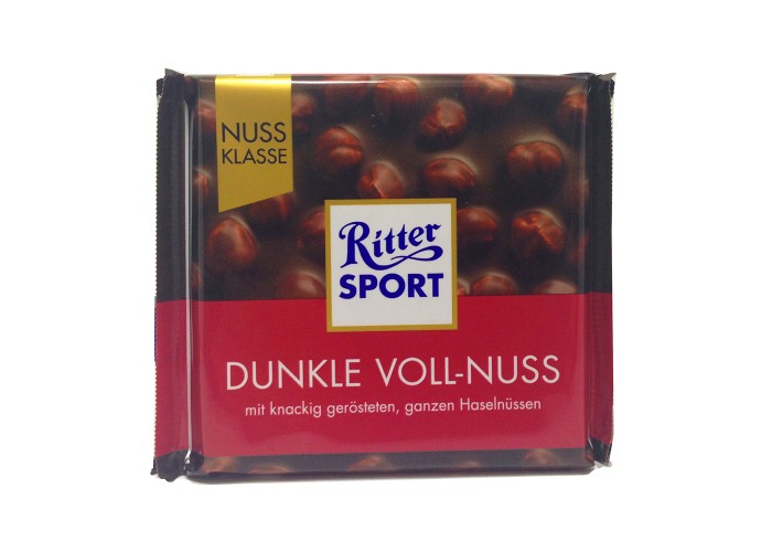 Ritter Sport Dunkle Voll-Nuss