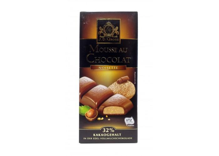J.D.Gross Mousse Au Chocolat Noisette