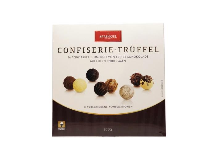 Sprengel Confiserie Truffel enthalt alkohol