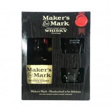 Maker's Mark 2glases 2