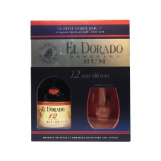 El Dorado 12 Y.O. 2 glasses
