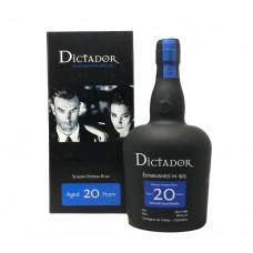 Dictador Rum 20 Yo Solera System