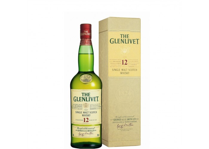 The Glenlivet Single Malt Whisky 12 Yo