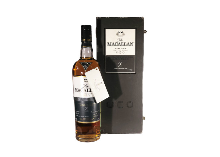 Macallan fine oak 21 Y.O.
