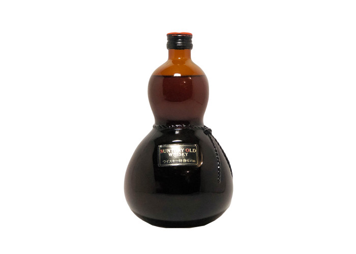 Suntory old Whisky Gourd Shaped