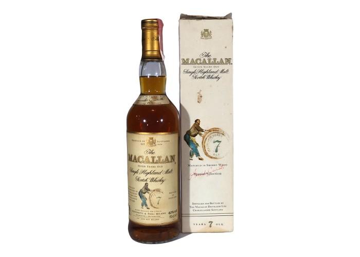 Macallan 7Yo
