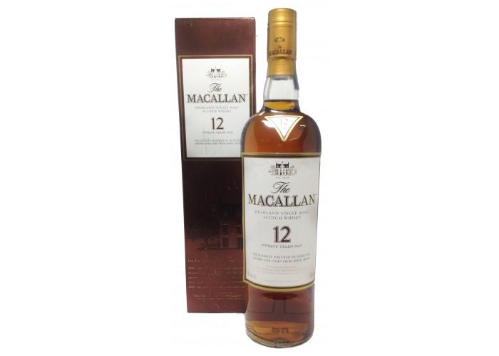 Macallan 12 Yo Sherry OAK