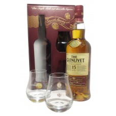 The Glenlivet 15 Yo + 2 glass