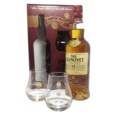 The Glenlivet 15 Yo + 2 glass