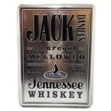 Jack Daniel's metal box + 2 стакана
