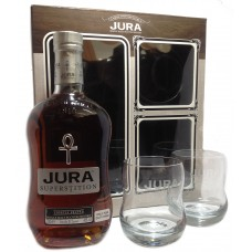 Jura Superstition + 2 glasses