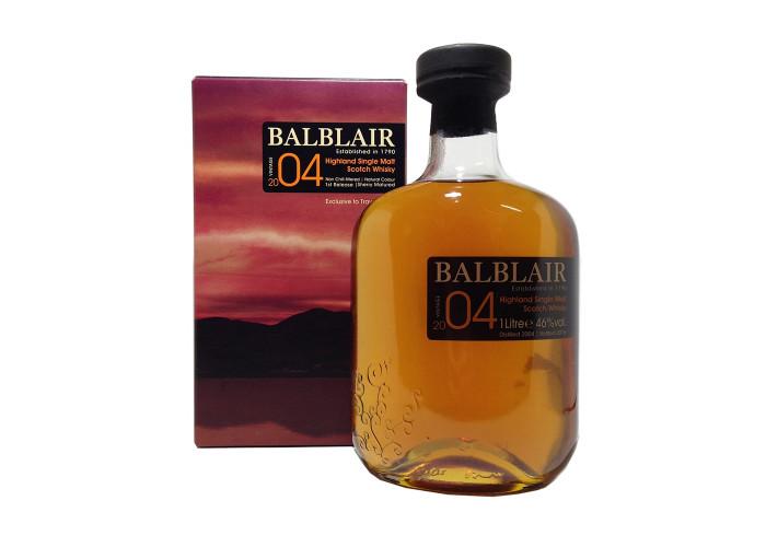 Balblair 04 Bottled 2016