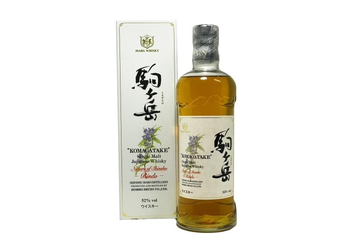 Mars Whisky komagatake Nature Of Shinshu Rindo