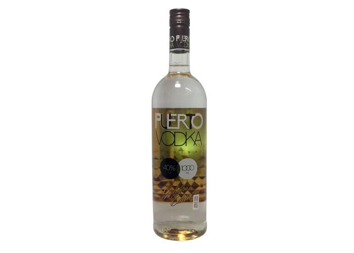 Puerto Vodka Golden Edition