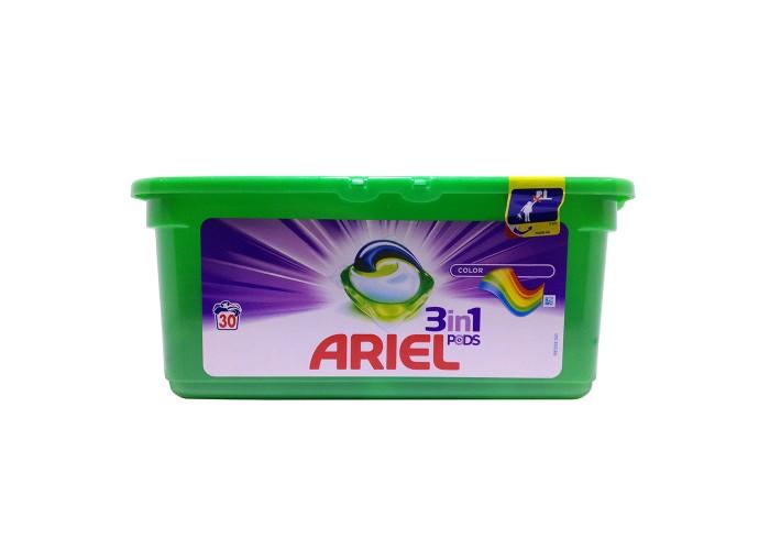 Капсулы для стирки Ariel 3in1 Pods Color
