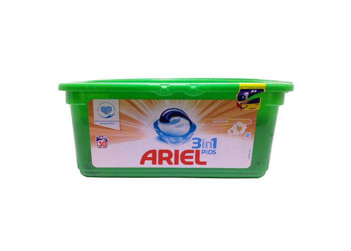 Капсулы для стирки Ariel 3in1 Pods Sensitive