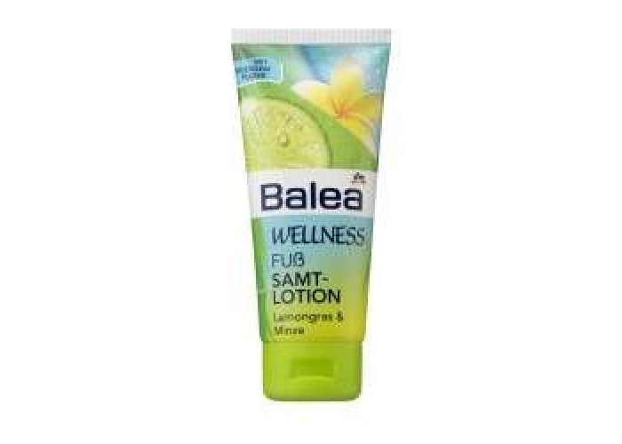 Balea Wellness Fus Samt-lotion