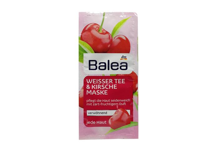 Balea Weisser Tee & Kirsche Maske