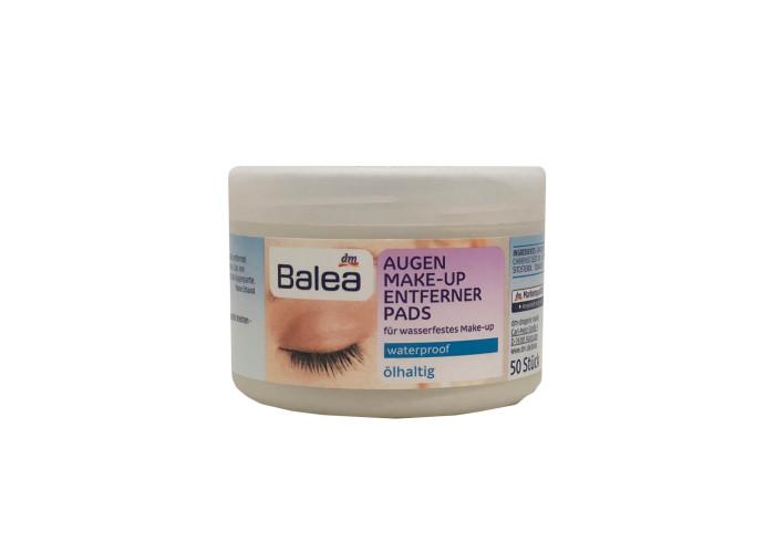 Balea Augen Make-up Entferner pads waterproof