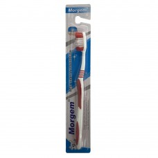 Morgem Best Quality Tooth Brush (Red)