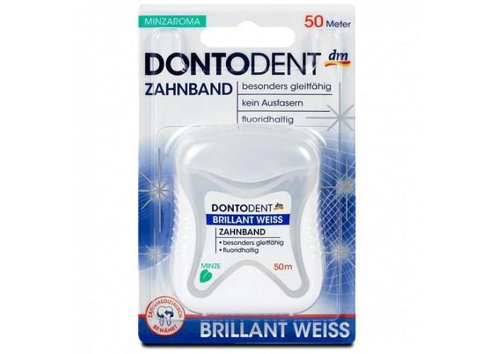 Dontodent Zahnseide Brillant weiss