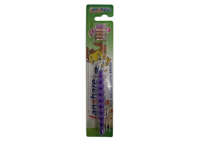 Lanshare Children Tooth Brush (Pupure)