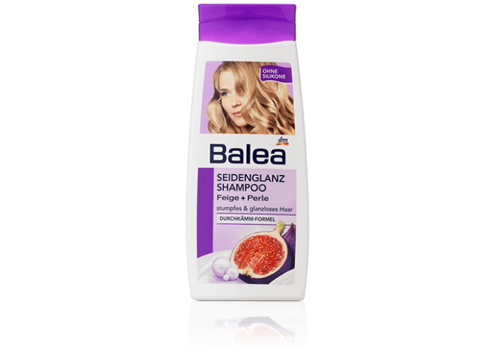Balea Shampoo Seidengladt
