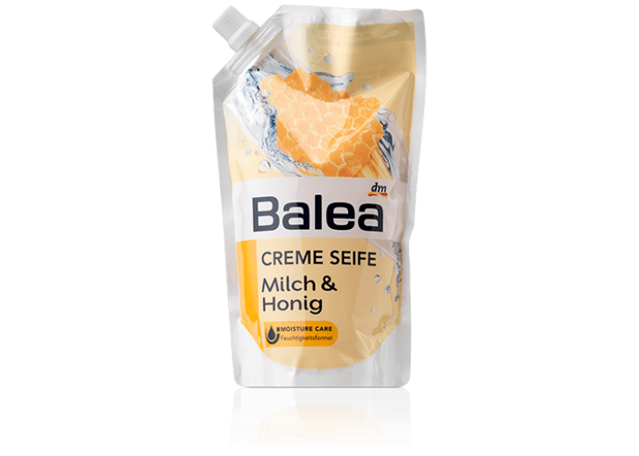 Balea Creme Seife Milch+Honig (Nachfuller)