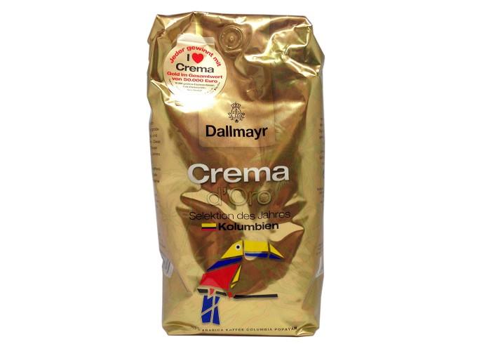 Кофе зерновой Dallmayr Crema