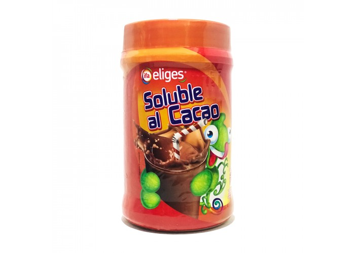 Eliges solube al cacao