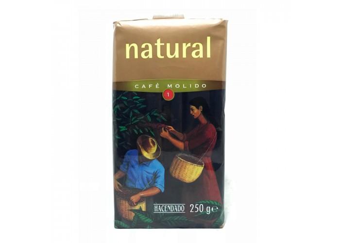 Hacendado Natural Cafe Molido-1