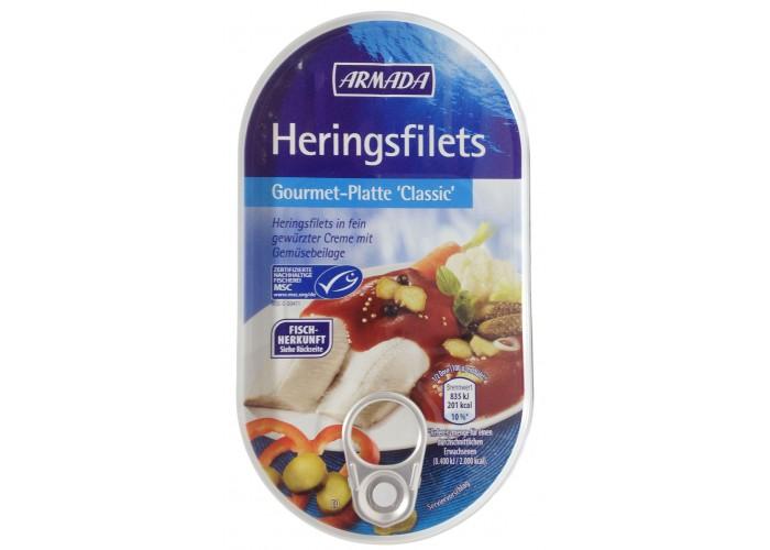 Armada Heringsfilets Gourmet-Platte 'Classc'