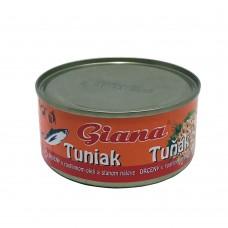 Giana Tunak Drceny v rastlinnom oleji a slamon naleve