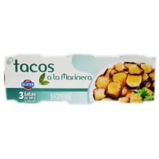 Tacos de pota a la Marinera