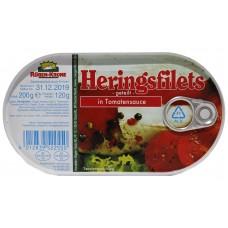 Heringsfilets in Tomatensauce