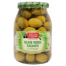 Delizie Di Riviera Olive Verdi Giganti