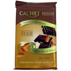 CACHET Dark Chocolate with Almonds