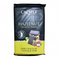 Cachet 300g Hazelnut darck Chocolate