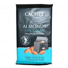 CACHET Almonds 54% Cacao 300g