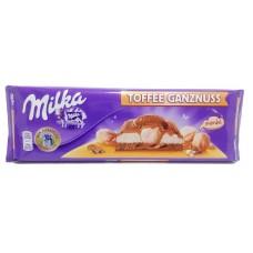 Milka 300г Toffee Ganznuss